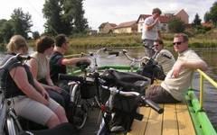 Ferry over Vltava