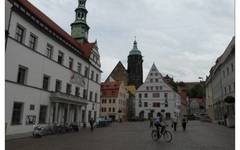Pirna main square