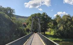Ohře river bridge near Klášterec