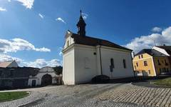 Kadaň town centre