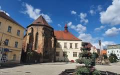 Chomutov old square