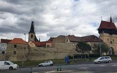 Louny old town